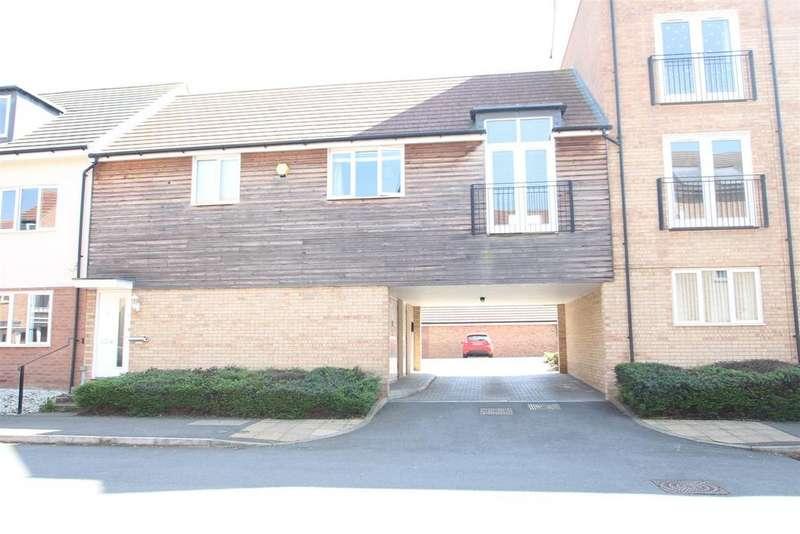 2 Bedrooms Apartment Flat for sale in Blythebridge, Broughton, Milton Keynes