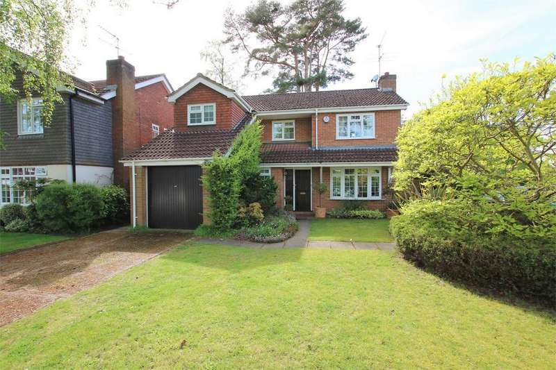 4 Bedrooms Detached House for sale in Jahelga, Gorse Ride North, Finchampstead, WOKINGHAM, Berkshire