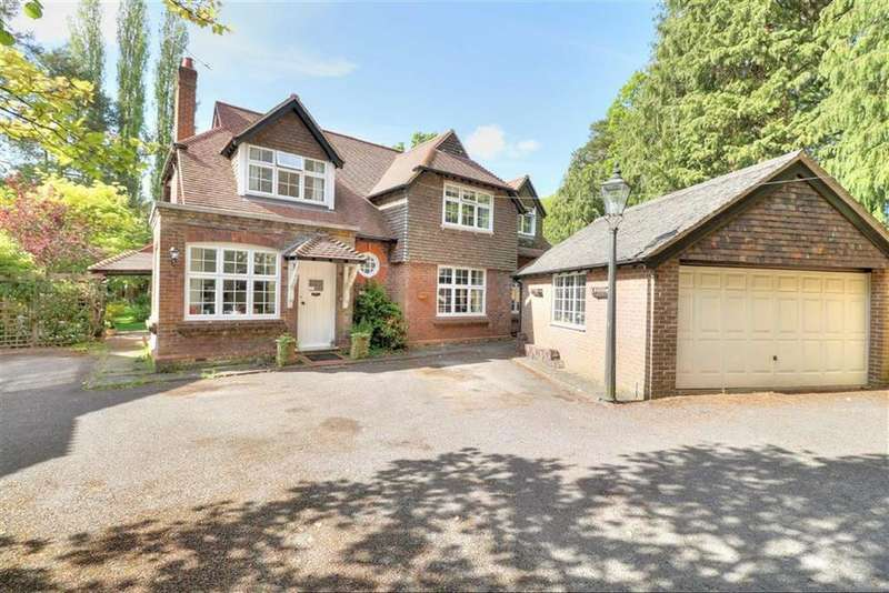 4 Bedrooms Detached House for sale in Merdon Avenue, Hiltingbury, Chandlers Ford, Hampshire