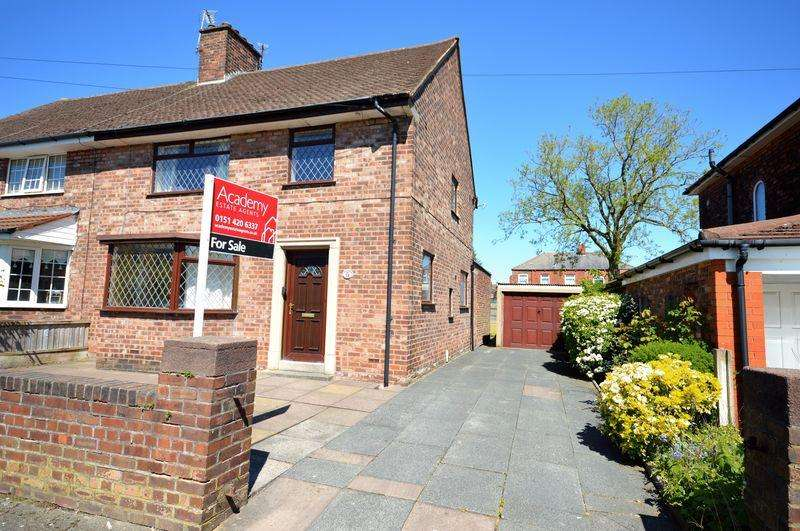 3 Bedrooms Semi Detached House for sale in Sandringham Road, Widnes