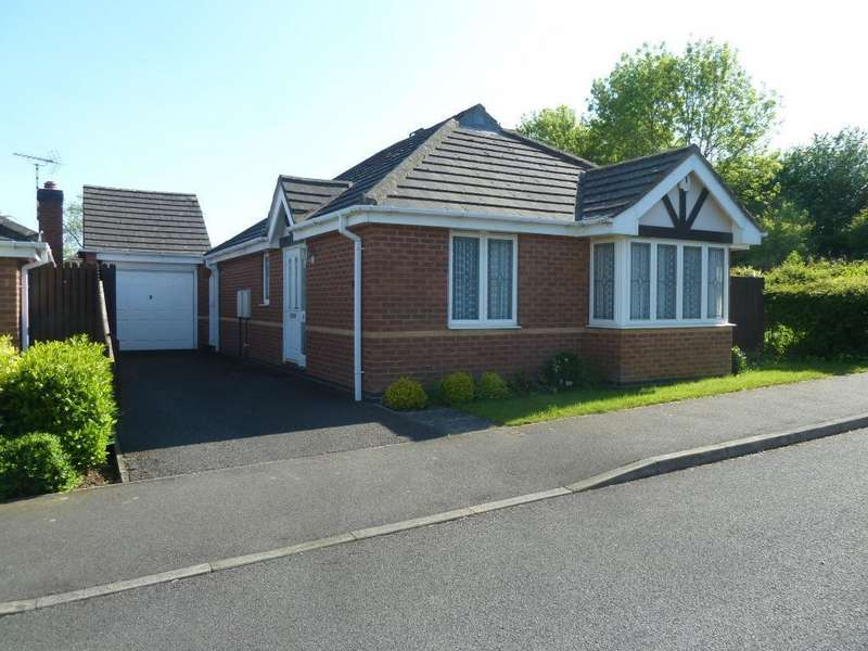 2 Bedrooms Detached Bungalow for sale in Coltfoot Way, Melton Mowbray