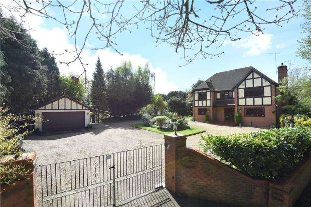 5 Bedrooms Detached House for sale in Barkham Ride, Finchampstead, Wokingham