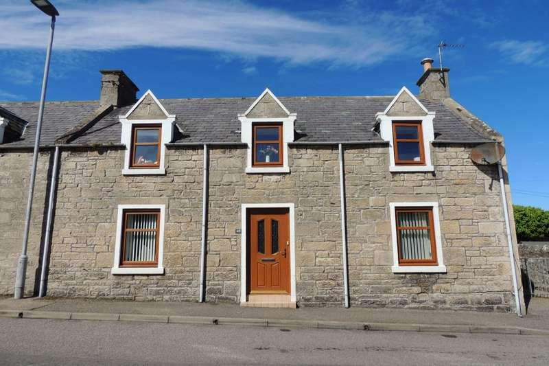 3 Bedrooms Semi Detached House for sale in King Street, Lossiemouth, IV31