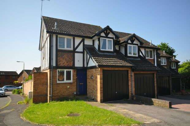 2 Bedrooms End Of Terrace House for sale in Ratby Close, Lower Earley, Reading,