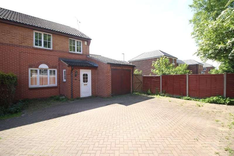 3 Bedrooms Semi Detached House for sale in Bond Close, Loughborough