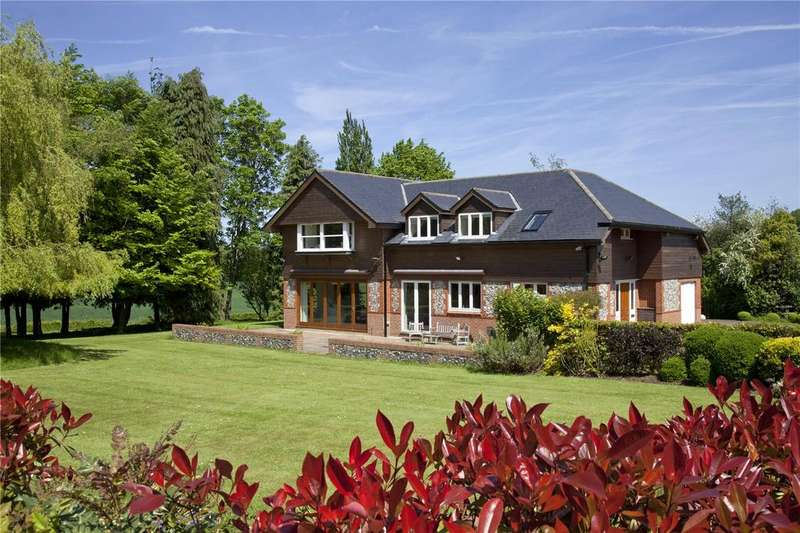4 Bedrooms Detached House for sale in Old London Road, Halstead, Sevenoaks, Kent, TN14
