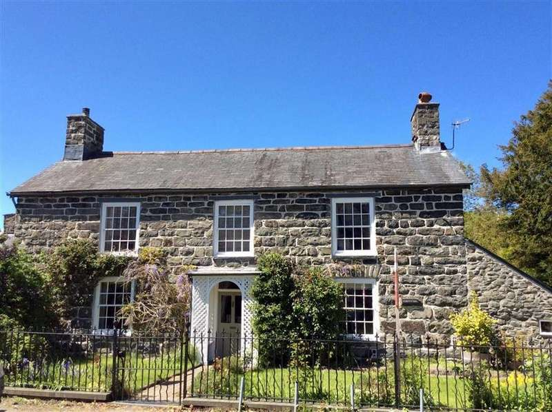 5 Bedrooms Detached House for sale in Gorffwysfa, Cemmaes, Machynlleth, Powys, SY20