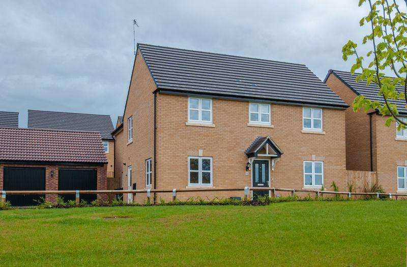 5 Bedrooms Detached House for sale in Gardenfield, Higham Ferrers