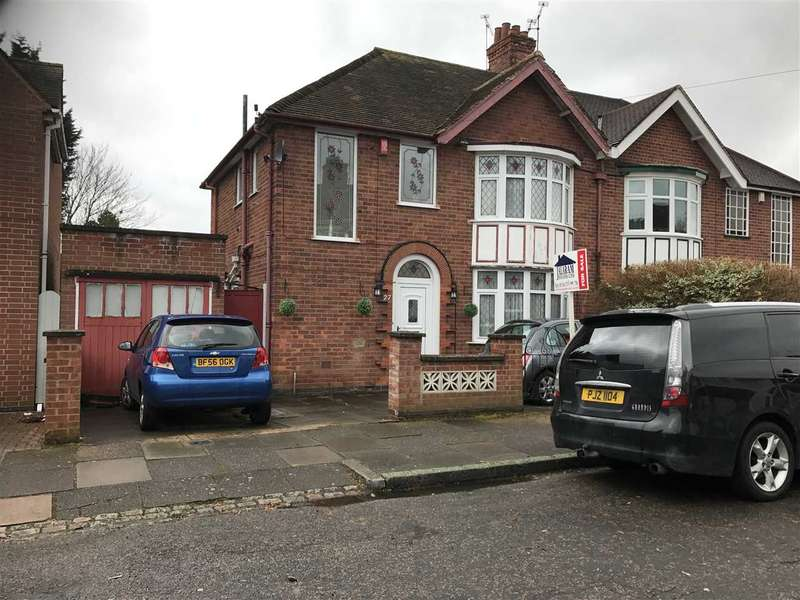 3 Bedrooms Semi Detached House for sale in Midway Road, LEICESTER