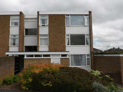 2 Bedrooms Flat for sale in Griffin Close, Shepshed, Loughborough, Leicestershire