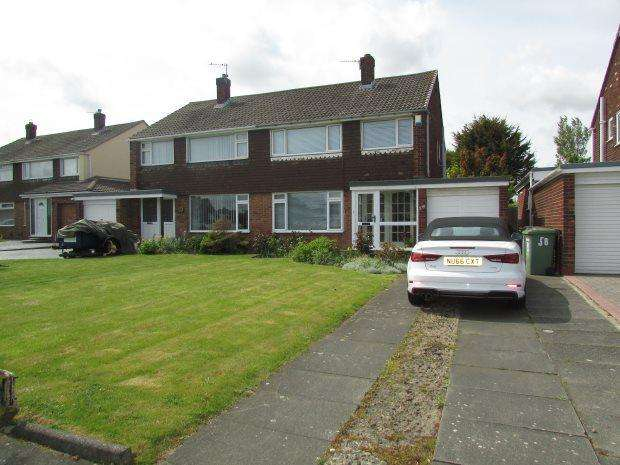3 Bedrooms Semi Detached House for sale in BILSDALE ROAD, SEATON CAREW, HARTLEPOOL
