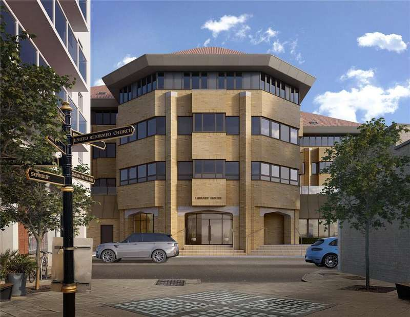 2 Bedrooms Flat for sale in Library House, New Road, Brentwood, Essex, CM14