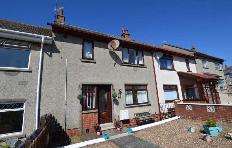 2 Bedrooms Terraced House for sale in 6 Kirkton Avenue, WEST KILBRIDE, KA23 9DY