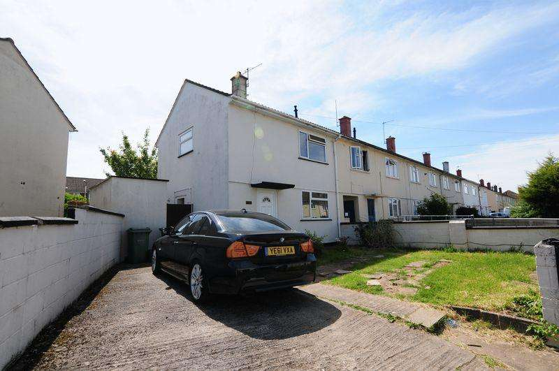 2 Bedrooms End Of Terrace House for sale in Greenditch Avenue, Hartcliffe, Bristol, BS13