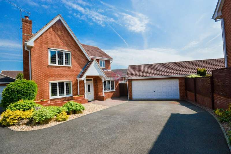 4 Bedrooms Detached House for sale in Springwell Grove, Beighton, Sheffield, S20