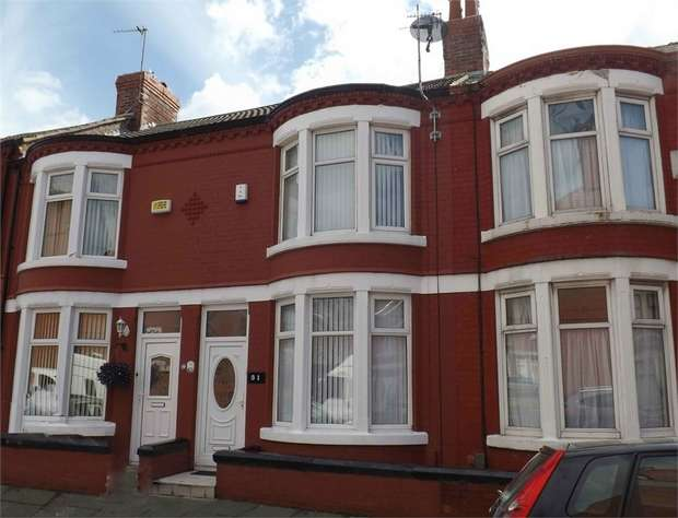 2 Bedrooms Terraced House for sale in Willowcroft Road, Wallasey, Merseyside