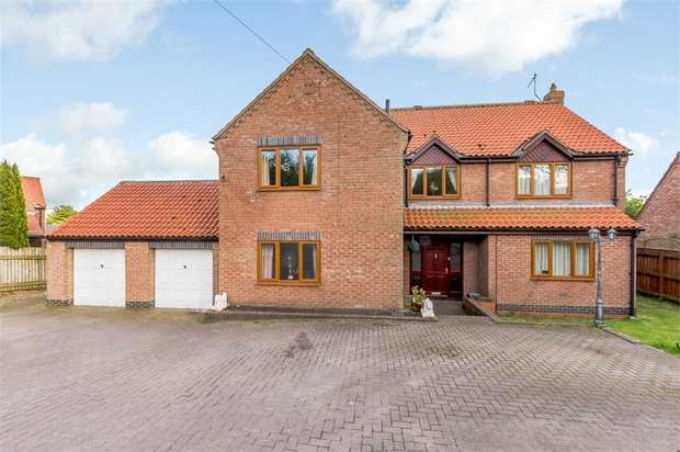 4 Bedrooms Detached House for sale in Church Lane, Carnaby, Bridlington, East Riding of Yorkshire