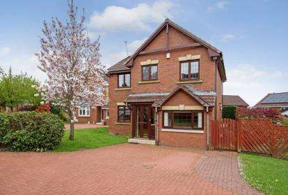 4 Bedrooms Detached House for sale in Langlea Drive, Cambuslang