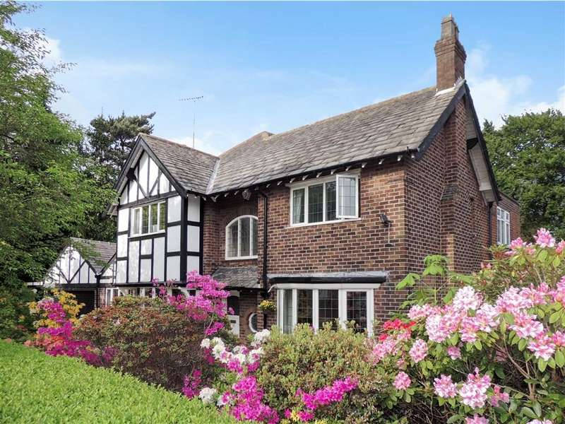 4 Bedrooms Detached House for sale in Birchvale Drive, Romiley, Stockport