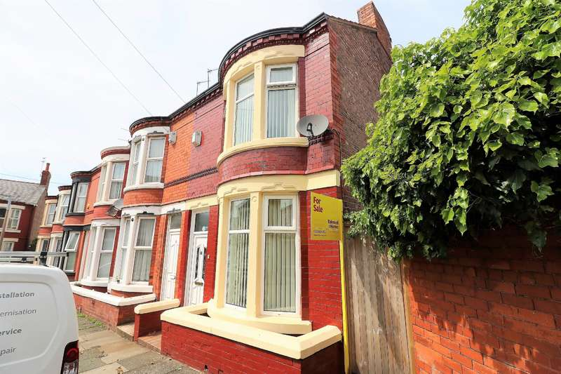 2 Bedrooms End Of Terrace House for sale in Rufford Road, Wallasey, CH44 4BY