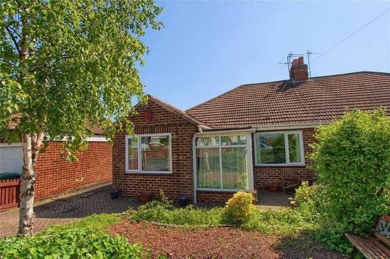 3 Bedrooms Semi Detached Bungalow for sale in Buxton Gardens, Wolviston Court