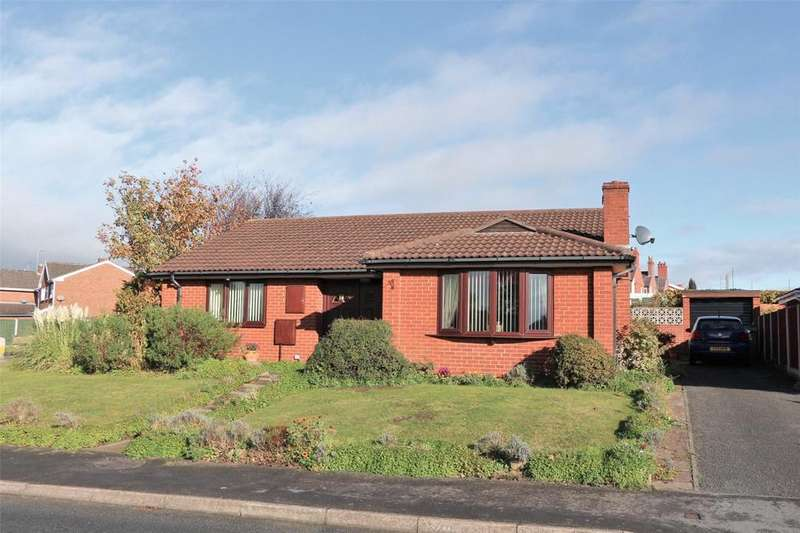 3 Bedrooms Detached Bungalow for sale in Westleigh Way, Rhosddu, Wrexham, LL11