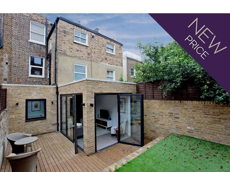 3 Bedrooms Ground Maisonette Flat for sale in Ashmore Road, W9