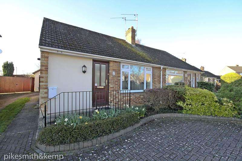 2 Bedrooms Semi Detached Bungalow for sale in Laggan Road, MAIDENHEAD, SL6