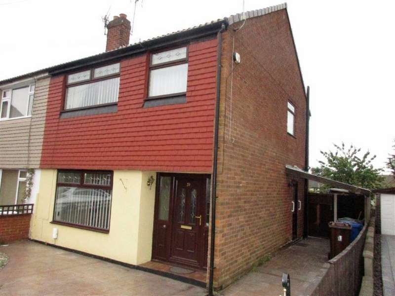 3 Bedrooms Semi Detached House for sale in Canterbury Close, Atherton, Manchester