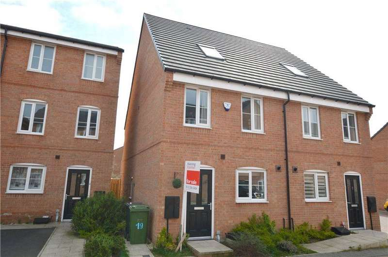 3 Bedrooms Semi Detached House for sale in Tunnicliffe Way, Thornbury/Pudsey Border, Bradford, West Yorkshire