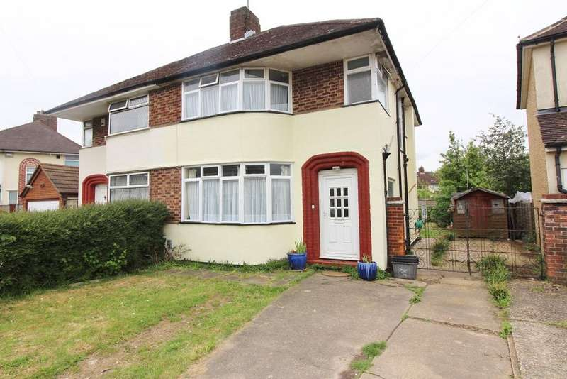 3 Bedrooms Semi Detached House for sale in Felstead Way, Luton, LU2