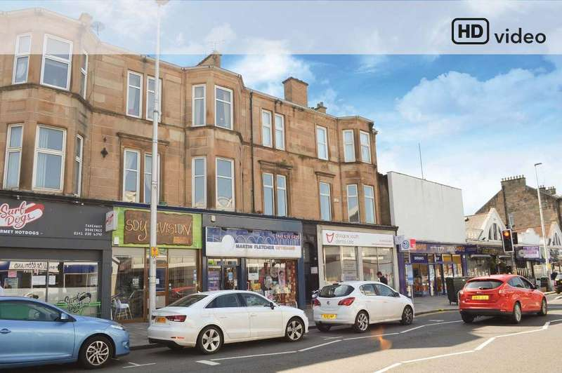 2 Bedrooms Flat for sale in Kilmarnock Road, Flat 1/1, Shawlands, Glasgow, G41 3YR
