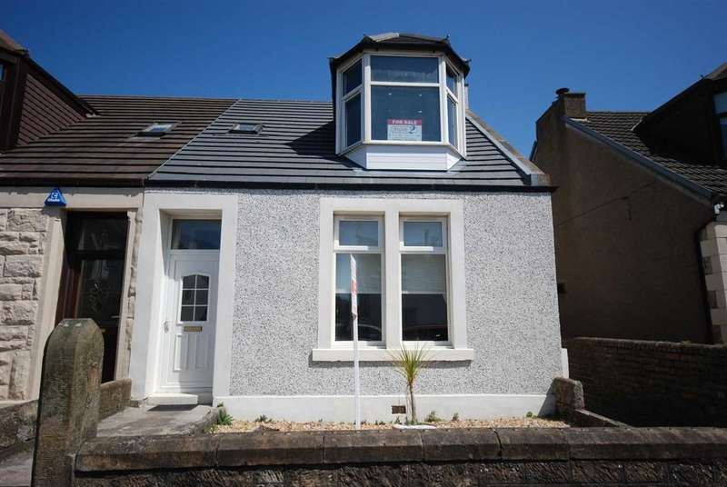 3 Bedrooms Semi Detached House for sale in Robertson Crescent, Saltcoats
