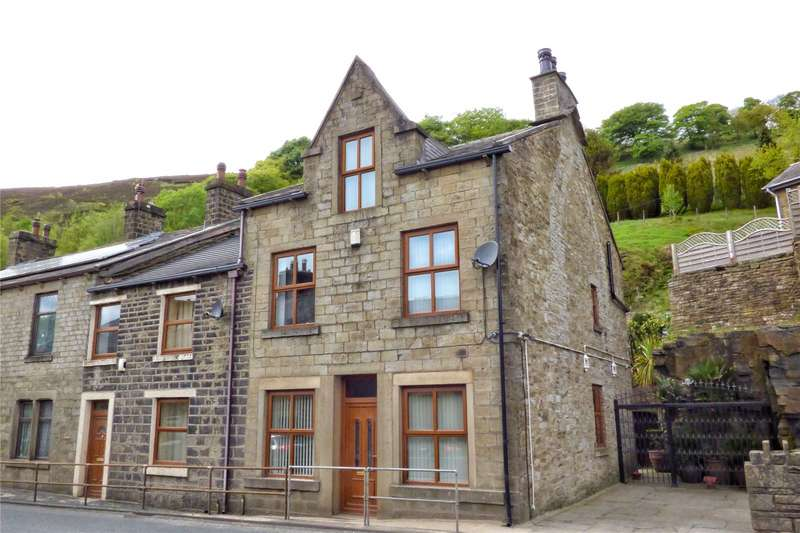 3 Bedrooms Semi Detached House for sale in Burnley Road East, Whitewell Bottom, Rossendale, Lancashire, BB4