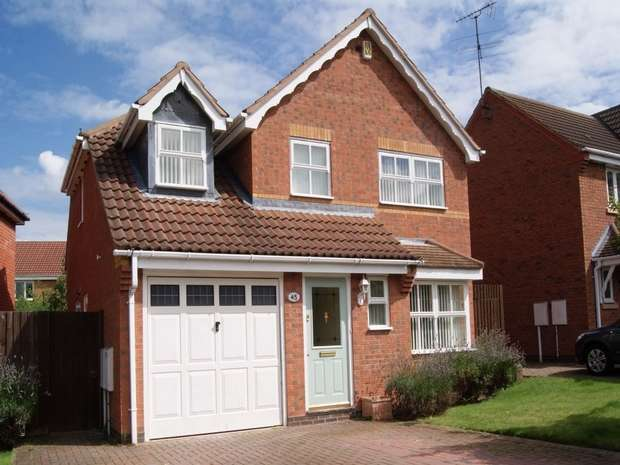 3 Bedrooms Detached House for rent in The Furlongs, Market Harborough, Leicestershire