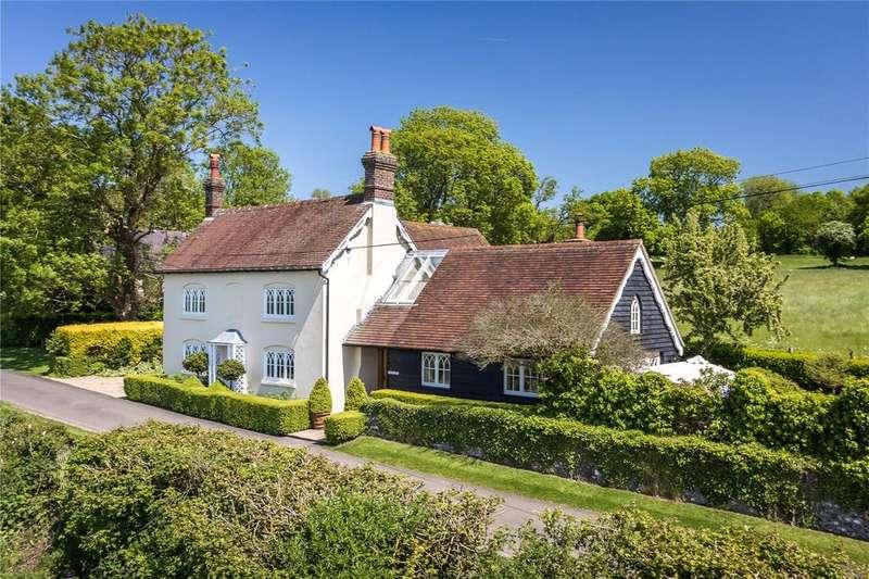 3 Bedrooms Detached House for sale in Woodlands, Bramdean, Alresford, Hampshire, SO24