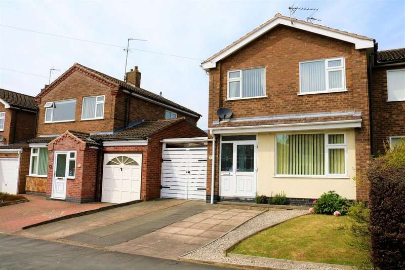 3 Bedrooms Semi Detached House for sale in Valley Road, Melton Mowbray
