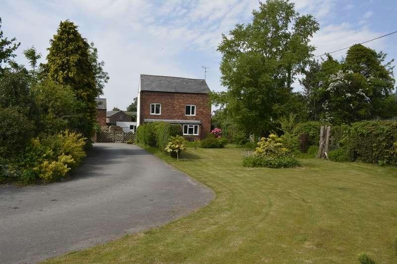 3 Bedrooms Detached House for sale in Manley Road, Alvanley, Frodsham, WA6
