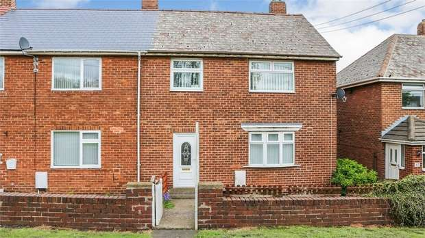 3 Bedrooms End Of Terrace House for sale in Berksyde, Consett, Durham