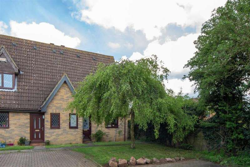 2 Bedrooms Semi Detached House for sale in Frenchmans Close, Toddington
