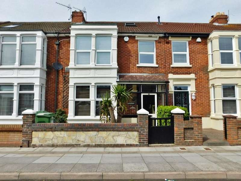 4 Bedrooms Terraced House for sale in Hayling Avenue, Baffins