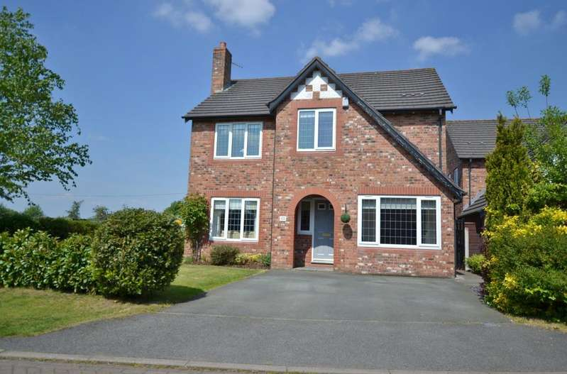 4 Bedrooms Detached House for sale in Villa Farm, Newcastle Road, Arclid