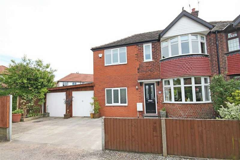 3 Bedrooms Semi Detached House for sale in Oakdene Road, Timperley, Cheshire