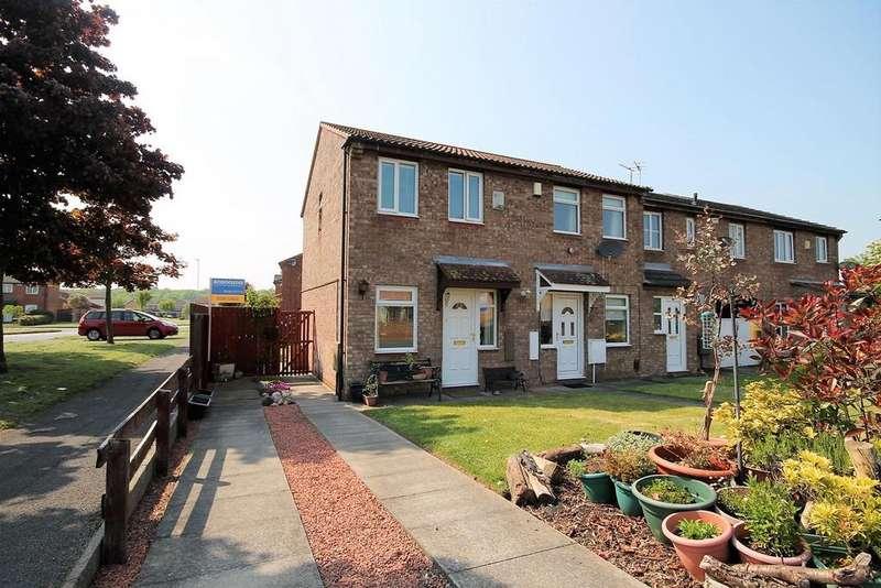2 Bedrooms End Of Terrace House for sale in Coleridge Road, Billingham
