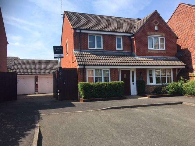 4 Bedrooms Detached House for sale in Eden Close, Hilton, Derby