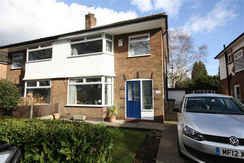 3 Bedrooms Semi Detached House for sale in Manor Avenue, Sale