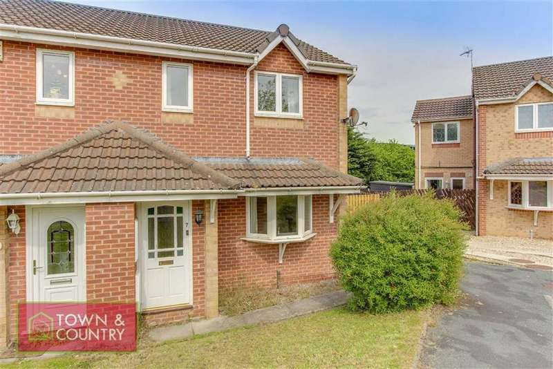 3 Bedrooms Semi Detached House for sale in Higher Close, Connah's Quay, Deeside