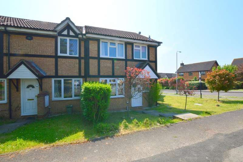 3 Bedrooms End Of Terrace House for sale in Farmbrook, Luton, LU2 7SZ