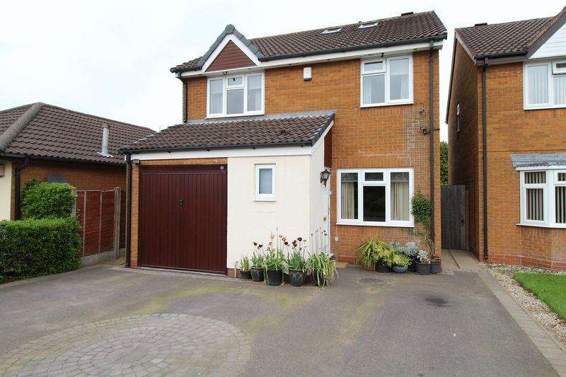 4 Bedrooms Detached House for sale in Blithfield Road, Brownhills
