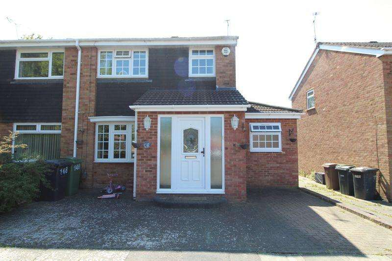 3 Bedrooms Semi Detached House for sale in Extended three bedroom in Ventnor Gardens